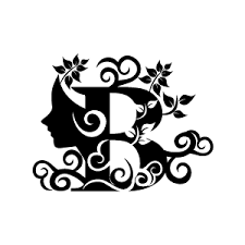 Design Black And White Flower Clipart Black Alphabet S With White Background Download