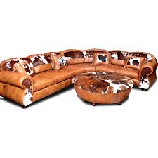 Rustic Leather Sofa by Western Leather Furniture Texas Ranch Leather Sectional Sofa W