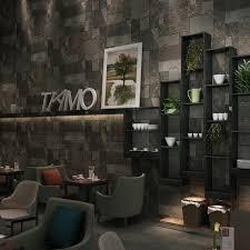 modern vintage home decor modern vintage 3d rock bricktexture wallpaper roll restaurant