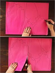 wedding backdrop tutorial colorful diy paper flower backdrop for your wedding weddingomania
