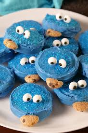 best cookie monster oreo recipe how to make cookie monster oreos
