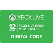 xbox live gift cards digital 12 month xbox live gold for xbox 360 and xbox one instant