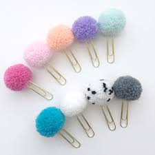 gumdrop pom pom paper clips are back and available in more colors