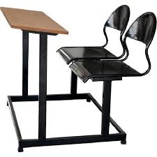 table chair college bench at rs 3600 piece college desk id