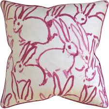 Purple Sofa Pillows by Hunt Slonem Throw Pillows Transitional Rustic Folk Pillows
