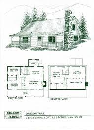 floor log cabins floor plans