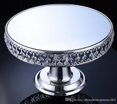 silver plated cake cake dessert table ornaments wedding
