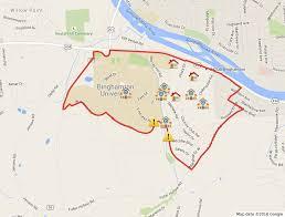 Binghamton University Map Eruv U2013 Beth David Synagogue