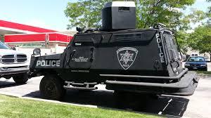 highway patrol armored car ut dash cam