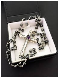 cruel intentions rosary cruel intentions rosary amethyst classic design sterling