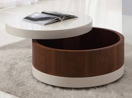 round white wood coffee table the round coffee tables with storage the simple and compact