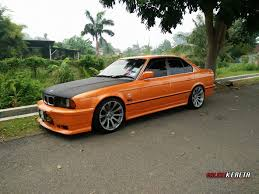 kereta bmw 5 series the orange e34 share my ride gk049 galeri kereta