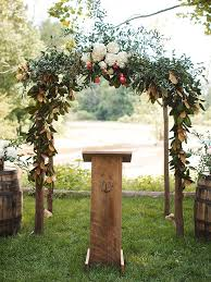 wedding ceremony arch 19 ideas for an outdoor wedding arbor
