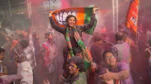 Landslide Victory for Modi     s Party in India The New York Times