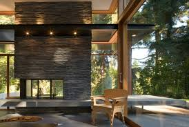 Midcentury Modern Home - the woodway residence by bohlin cywinski jackson contemporist