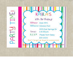 Birthday Cards Invitation Happy Birthday Invitation Plumegiant Com