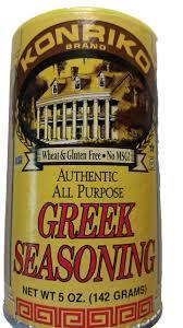 amazon com konriko greek seasoning 2 5 ounce pack of 6