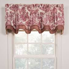 Bed Bath And Beyond Window Valances Buy Red Valances From Bed Bath U0026 Beyond