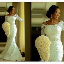 wedding dress wholesale 2016 ivory south african mermaid lace