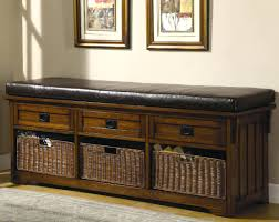 black entryway bench with storage baskets entryway bench with shoe