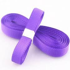 ribbon hair bows 5yds 3 8 10 mm purple solid christmas grosgrain ribbon hair bows