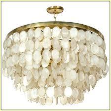White Shell Chandelier Shell Pendant Chandelier Edrex Co