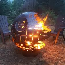 Sphere Fire Pit by Star Wars Death Star Firepit 36