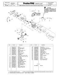 28 poulan pro service manuals po15538lt poulan pro 260le