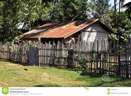 house old thailand retro style country vintage stock photo image