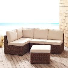 How To Build Patio Furniture Sectional - build your own essex beach whiskey sectional pier 1 imports
