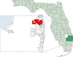 Driving Map Of Florida by Palm Beach Gardens Florida Wikipedia