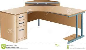 Corner Desk Office by Angled Corner Office Desk Stock Photos Image 14161233