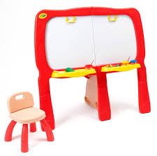 Desk Easel For Drawing Crayola Super Duper Kids Creative Art Drawing Easel Board Desk