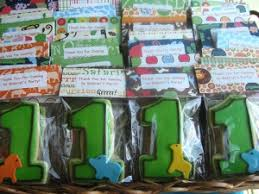 1st birthday party favors birthday cookies for boy or girl celebrate