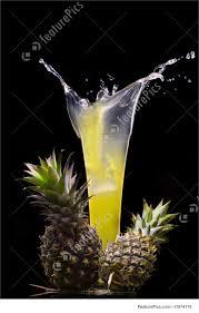 drink splash pineapple splash photo