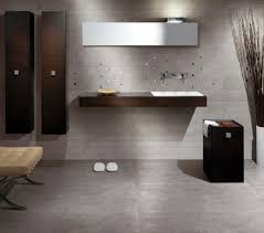 bathroom flooring ideas vinyl oval shine modern glass mirror wall
