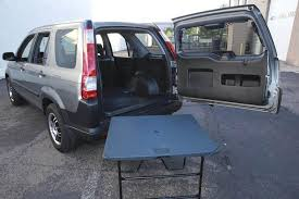 every honda cr v used to come with a picnic table in back autotrader