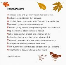 thanksgiving thanksgiving phenomenal poem image ideas