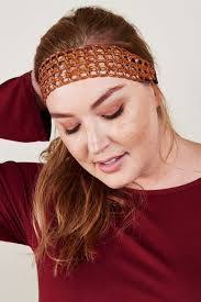 leather headband woven faux leather headband earthbound trading co earthbound