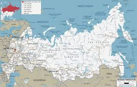 Russia Travel And Tourism Travel by Russia Map Russian Maps Map Of Russia Tourist Map Russia