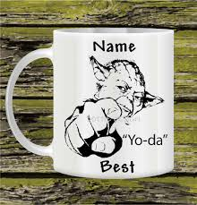 Best Coffee Mug Personalised Mug Yoda Best Mug Star War Tea Coffee Mug Funny
