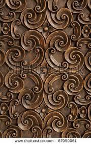 wood thai pattern handmade wood carvings by 501room via