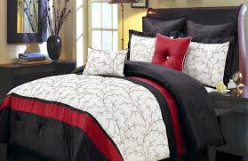 Baby Schlafzimmer Set Bedding Set Black White And Red Bedding Conviction Bed Spread