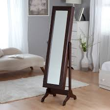 jewelry armoire full length mirror decorating design mirrored jewelry armoire for decoration