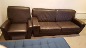 Leather Sofa Sale Melbourne by For Sale Pure Black Leather Recliner Sofa Sofas Gumtree