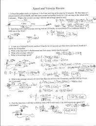 Speed Velocity And Acceleration Worksheet With Answers Velocity And Acceleration Calculation Worksheet Answers Cockpito
