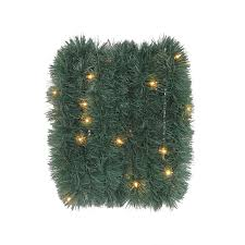 trim a home outdoor christmas decorations shop artificial christmas garland at lowes com