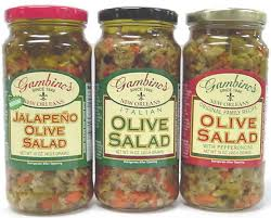 gambino s olive salad gambino s italian olive salad 16 oz of 6 instawares