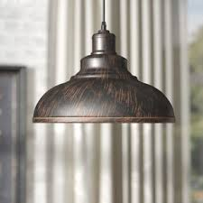 Hammered Copper Pendant Light Hammered Copper Pendant Light Wayfair