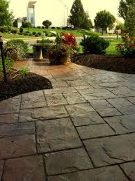Recycled Brick Driveway Paving Roseville Pinterest Driveway by 1000 Ideas About Concrete Driveways On Pinterest Stamped